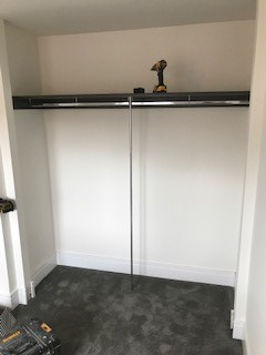 "Spacepro ""Minimalistic""  Fitted Wardrobe Installed by Joinery Installations Chesterfield"