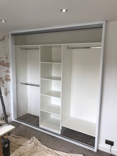 "Spacepro ""Classic""  Fitted Wardrobe Installed by Joinery Installations Chesterfield"