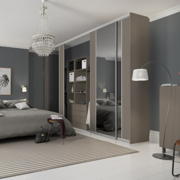Spacepro Contour Fitted Wardrobe Service by Joinery Installations Chesterfield
