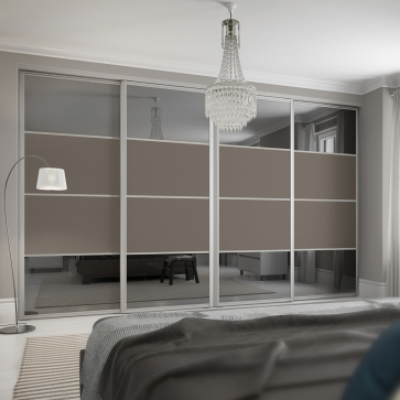 Spacepro Ellipse Fitted Wardrobe Service by Joinery Installations Chesterfield